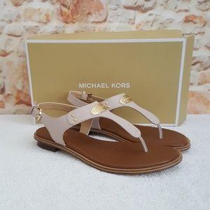 New Michael Plate Thong Sandal